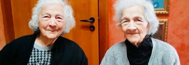 Maria e Adele, cento anni da inseparabili per le gemelle salentine