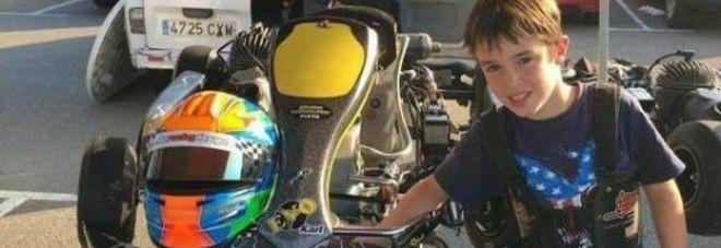 """Gonzalo muore a 10 anni in kart sul circuito Fernando Alonso. Il pilota di Formula 1: """"Sono distrutto"""" -Foto"""