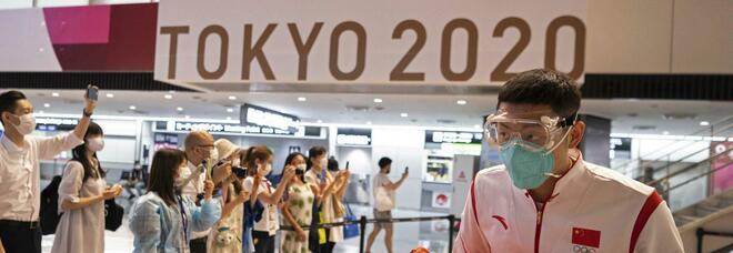 Tokyo2020, tre atleti positivi al Covid: «Due nel villaggio olimpico, entrambi dello stesso paese»