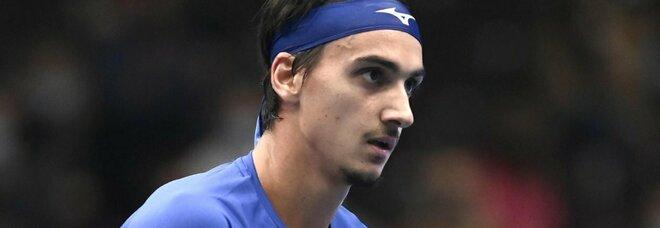 Vienna, Sonego non si ferma più: battuto anche Evans, domani finale contro Rublev