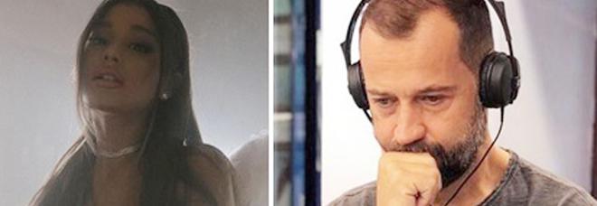 Fabio Volo contro Ariana Grande: «Puttanun! Come si è introiat*. In ginocchio che muove il culo!»