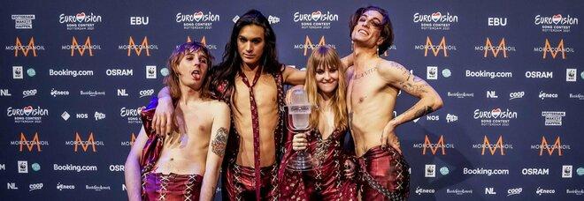 Maneskin: «Dopo il trionfo all'Eurovision non ci fermiamo più. Ora il disco, poi il tour. E siamo pronti per il Glastonbury festival»