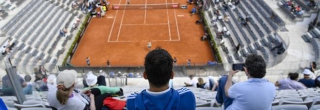 Internazionali di tennis con pubblico in presenza: «Che emozione sugli spalti, ho assaporato la normalità»