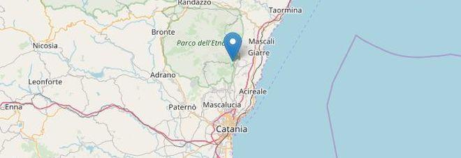 Terremoto, scossa nel Catanese: epicentro nell'area dell'Etna