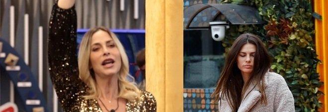 Grande Fratello Vip, scontro acceso tra Dayane e Stefania Orlando: «Non è più credibile, è falsa e manipolatrice»