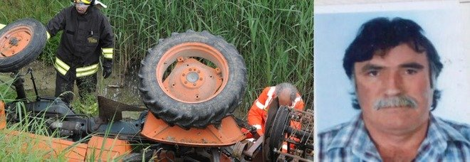 Si rovescia col trattore mentre taglia l 39 erba sessantenne for Erba per prato che non si taglia