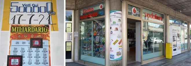Gratta un Miliardario da 5 euro e se ne porta a casa 500mila: colpo grosso in tabaccheria