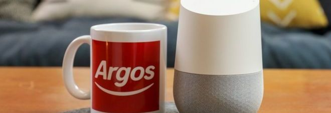 Argos lancia lo shopping vocale grazie a Google Assistant