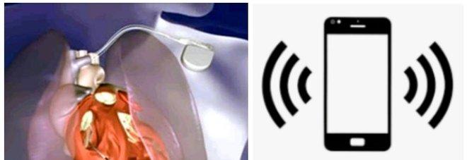 Allarme smartphone, a rischio chi ha un pacemaker o defibrillatore impiantabile