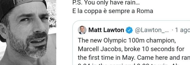 Giornalista inglese mette in dubbio la vittoria di Jacobs, la risposta di Luca Argentero spiazza tutti: «Lo sai come ti chiamiamo...»