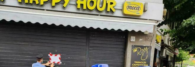 Sigilli al Roxy Bar, dopo la sparatoria chiuso il locale all'Alessandrino
