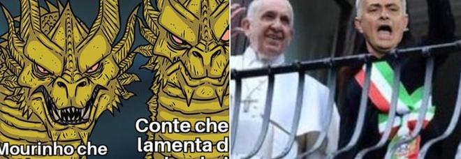 Mourinho alla Roma, i migliori meme sul web dopo l'annuncio