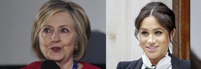 Hillary Clinton difende Meghan Markle: «La attaccano perché è birazziale, dovrebbero vergognarsi»