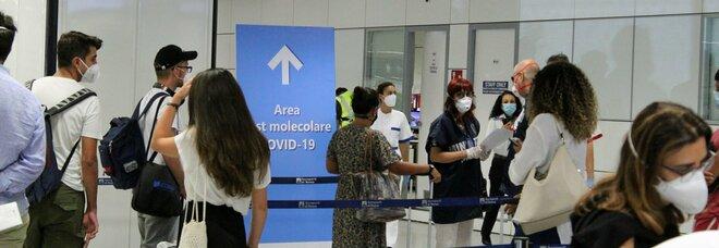 Covid test in aeroporto anche a Ciampino: tamponi rapidi con referto in mezz'ora