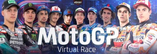MotoGp, domenica al via il Gran Premio virtuale: i big si sfidano a colpi di joystick. Assente Valentino Rossi