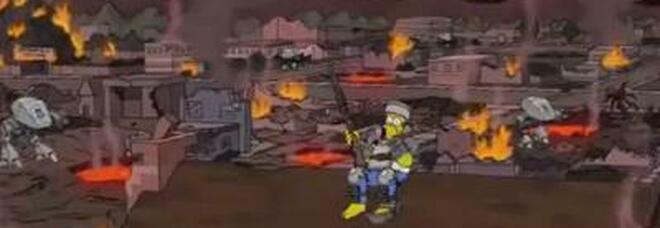 Usa, i Simpson avevano predetto l'assalto al Congresso: «Un'altra profezia si avvera, è inquietante»
