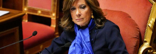 Casellati, denuncia della presidente del Senato: «Minacce di morte, escalation di odio»