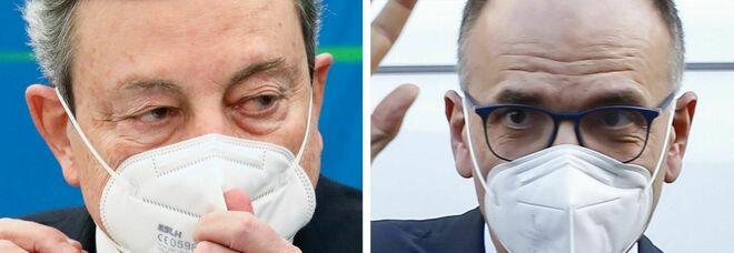 Draghi incontra Letta: asse su Europa e riforme
