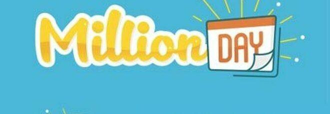 MillionDay, l'estrazione dei cinque numeri vincenti di domenica 9 maggio 2021