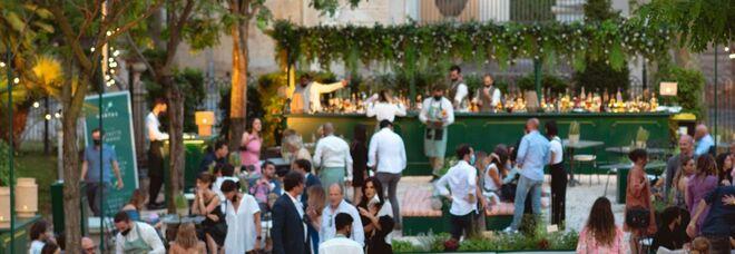 Casina Valadier, a Roma notti magiche all'Hortus bar & bistrot tra cocktail ispirati agli dei dell'Olimpo, live band e cucina green