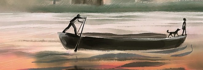 Paolo Malaguti, Se l'acqua ride. Il mozzo e la fabbrica che cambia il destino