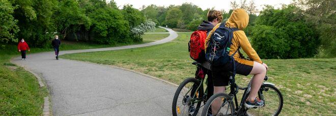 A 15 anni cade dalla bici facendo fuoripista: è grave. Il presidente di Parco Nord: «Questi sentieri non ci devono essere»