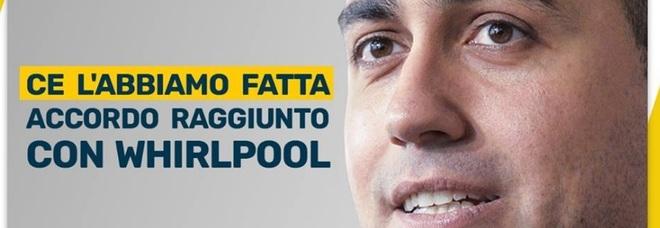 Whirlpool, quando Di Maio al Mise prometteva: «Accordo fatto, nessun licenziamento»