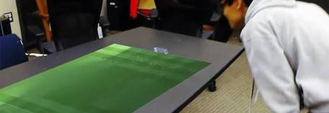 Risultati immagini per Le partite di calcio del futuro? Ologrammi 3D da vedere sul tavolo