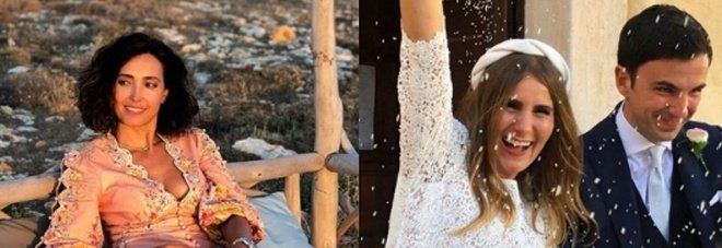 Caterina Balivo alle nozze della sorella, il micro-vestito va su: «Non è possibile...»