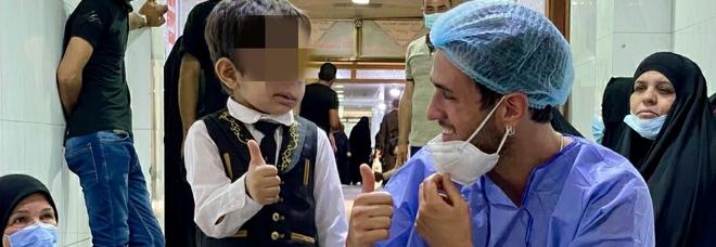 """Emergenza sorrisi in Iraq: salvati 98 bambini con malformazioni al volto. Il racconto del """"Reporter della felicità"""". ESCLUSIVA"""