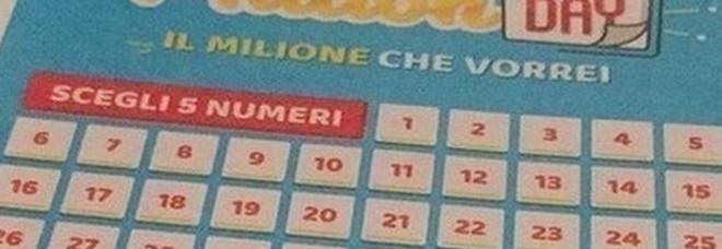 Million Day, estrazione di lunedì 2 settembre 2019: i numeri vincenti