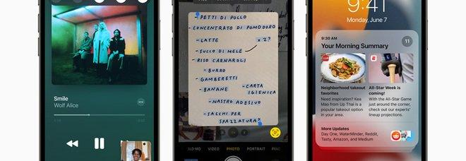 Apple presenta il nuovo iOS 15 per iPhone. Tutte le novità