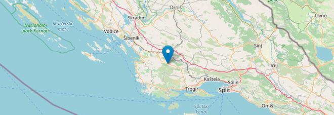 Terremoto in Croazia, scossa di magnitudo 4.7 avvertita su tutta la costa: «Danni alle auto»