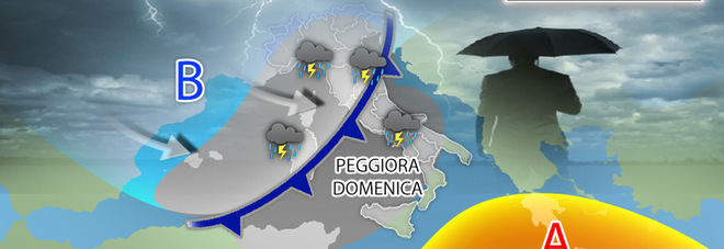 Meteo, tornano le piogge: le previsioni per venerdì e il weekend