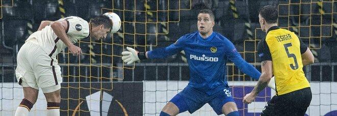 Young Boys-Roma 1-2: Kumbulla e Peres firmano la rimonta da tre punti
