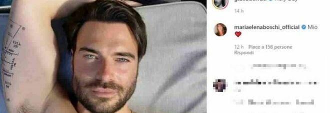 """Maria Elena Boschi e il post sexy di Giulio Berruti, la ex ministra """"gelosa"""": «È mio»"""