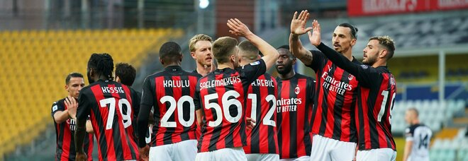 Parma-Milan, i voti: Rebic e Kessie colpiscono, ma Ibrahimovic rischia di rovinare tutto