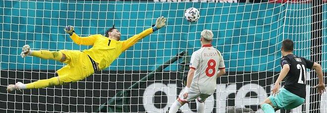 Austria-Macedonia 3-1, Lainer poi Gregoritsch e Arnautovic: ai balcanici non basta Pandev