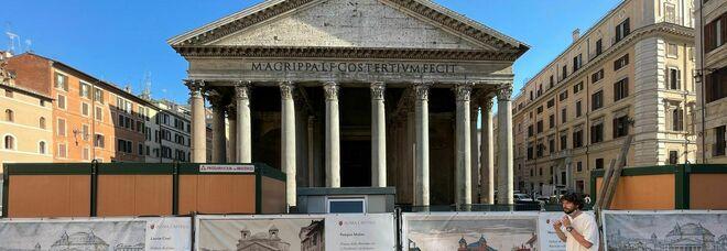 Nuovo look al Pantheon