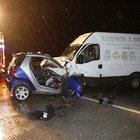 Treviso, frontale tra la Smart e il furgone: morto sul colpo l'automobilista di 45 anni