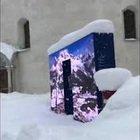 Nevicata da record a Cortina, case e auto sepolte