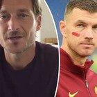 Francesco Totti parla per la prima volta da positivo, l'invito scherzoso a Dzeko: «Coronavirus? Vieni a casa e giochiamo»