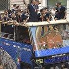 Festa della Nazionale con il bus a Roma, il prefetto: «Non era autorizzata, hanno deciso Bonucci e Chiellini»