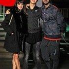 Fabrizio Corona, il figlio Carlos Maria e Asia Argento (Chi)