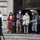 Psicosi Corinavirus a Roma, i turisti con le mascherine anticontagio