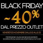 Un black friday lungo un week end a Valmontone outlet