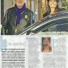 Flavio Briatore ed Elisabetta Gregoraci insieme in un hotel a Milano (Diva e donna)