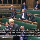 """Covid, Johnson: """"Da noi piu casi che in Italia perché amiamo la libertà"""""""