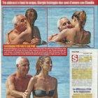 Giorgio Panariello e la fidanzata Claudia Maria Capellini in vacanza a Formentera (Nuovo)