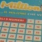 Million Day, i cinque numeri vincenti di oggi martedì 2 febbraio 2021